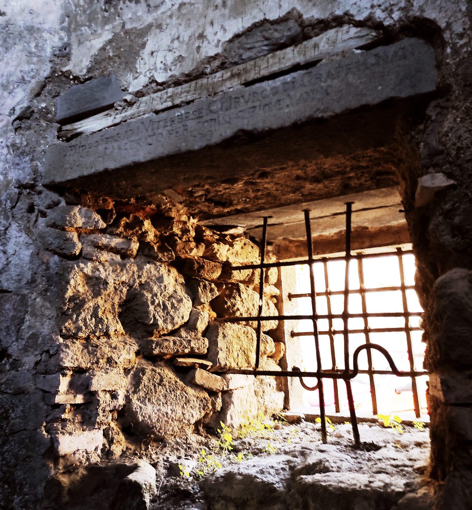 Dettaglio prigione Castello Baglioni